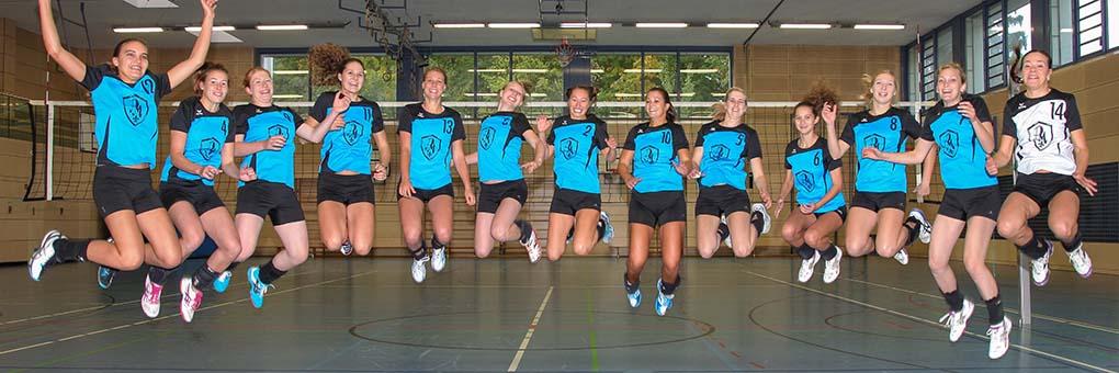 Volleyball - Einen coolen Haufen hat der TSV da!
