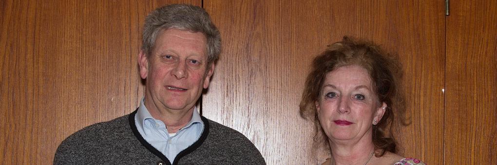Die Neuen im Vorstand: Herbert Ulherr und Beate Michler