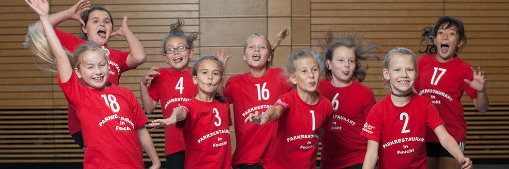 Wir sind die Volleyball Mini Winners des TSV 04 Feucht