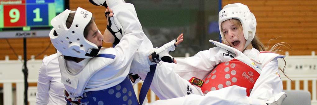 Taekwondo - Trainiert Muskeln und Geist - gibt Kraft, Selbstbewusstsein und Sicherheit